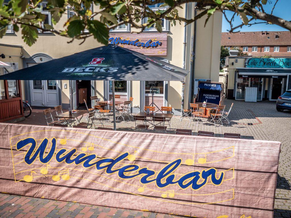 Wunderbar Terrasse - Schlager meets Burger